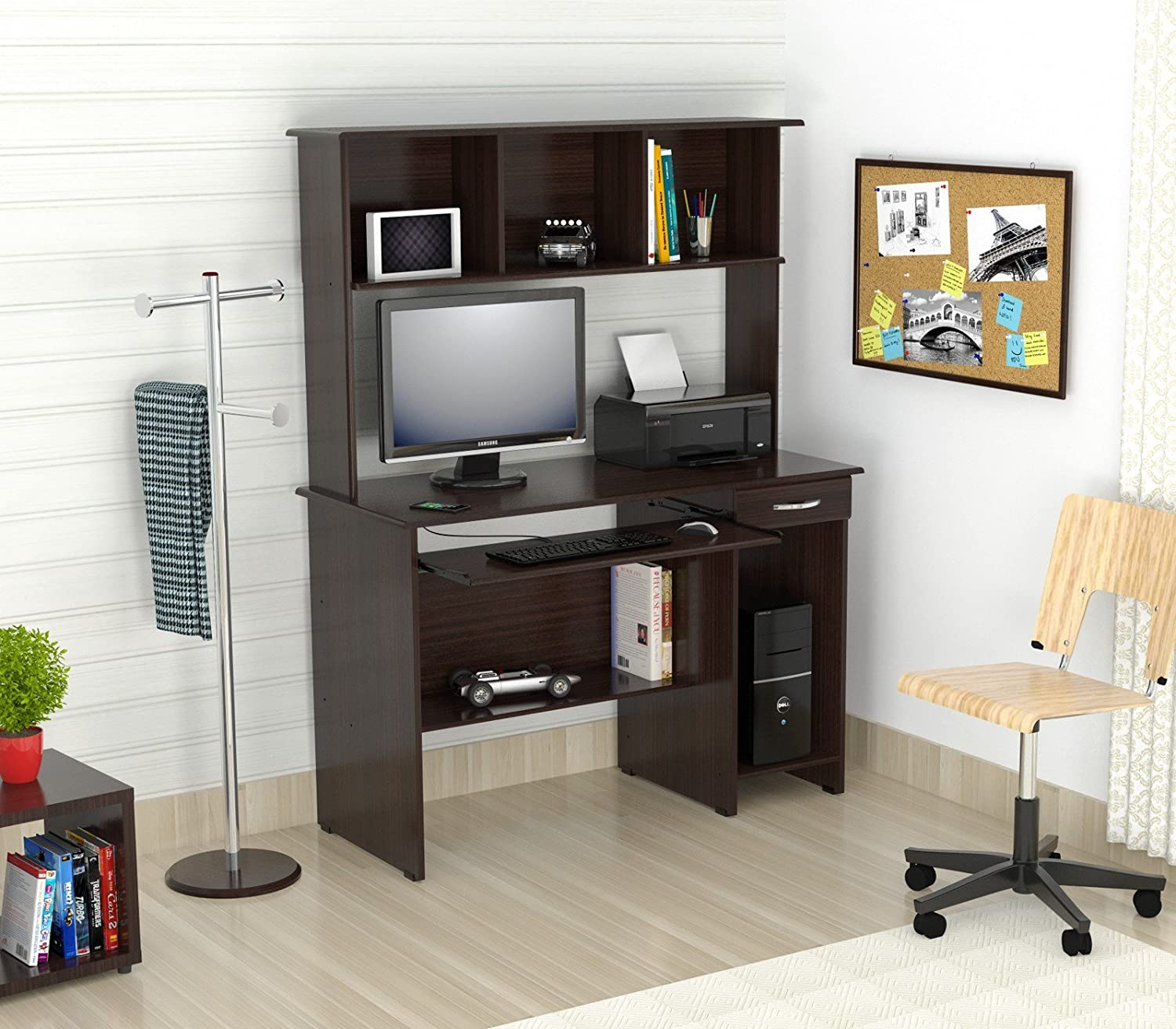 computer small with babytimeexpo hutch black furniture ideal desk