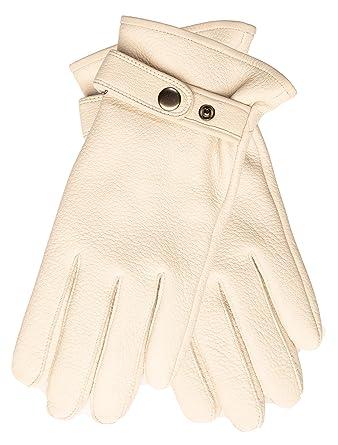 online store e9a02 17fa3 EEM Uomo guanti in pelle NEAL pelle di daino, fodera ...