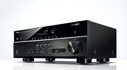 Yamaha MusicCast RX-V483 - Receptor AV, Color Negro: Amazon.es ...
