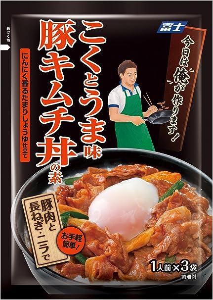 豚 キムチ 丼