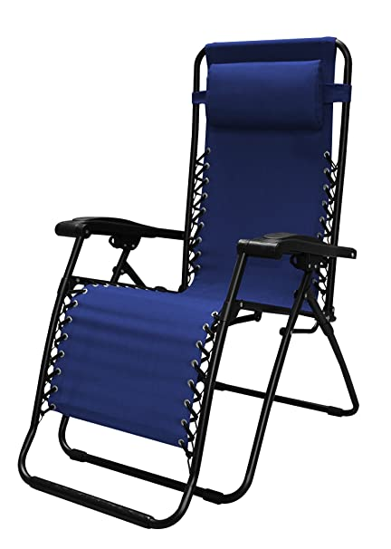 Amazon Caravan Sports Infinity Zero Gravity Chair Blue