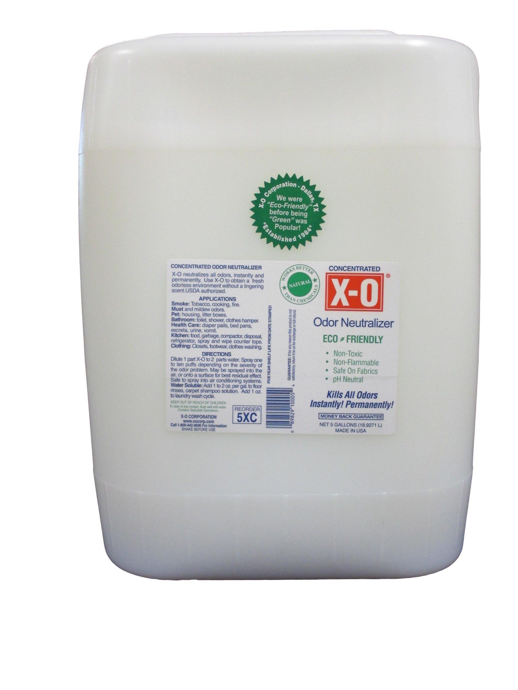 X-O Odor Neutralizer, 5 gal, Clear