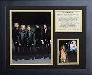 Legends Never Die Aerosmith III Framed Photo Collage, 11 x 14-Inch