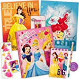 Disney Princess School Supplies Value Pack -- Folders, Notebook, Pencils, Pencil Sharpener, Eraser
