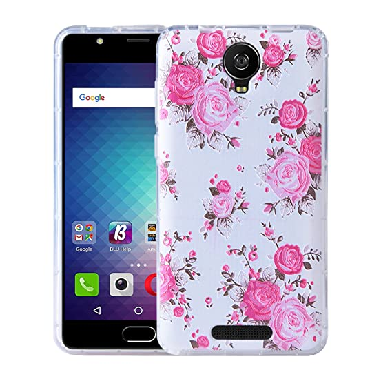 separation shoes ecb7d 52295 BLU Studio XL 2 Case, KTtwo [Lightweight] [Shockproof] [Scratch Resistant]  [Drop Protection] Special 3D Relief Printing Pattern Design Silicone Soft  ...