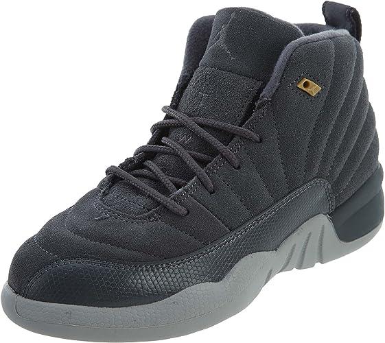 quality 100% authentic pick up Amazon.com | Jordan 12 Retro (BP) Little Kids Shoes Dark Grey/Dark ...