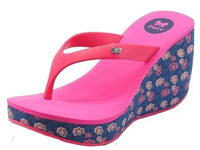 Zaxy 81975 Lipstck V Fem Pink/Blue, Damen Zehentrenner, Mehrfarbig - Pink/Blue - Größe: 37