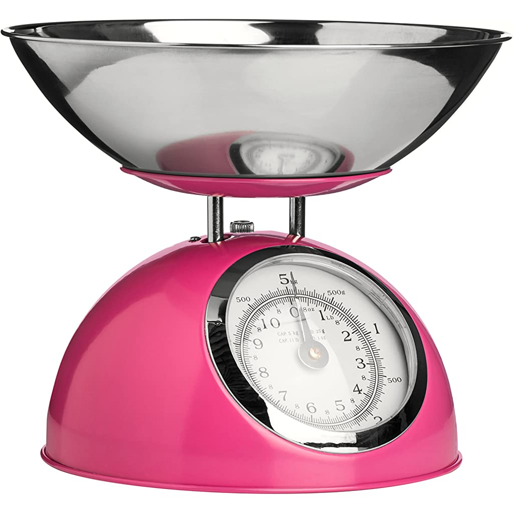 Premier Houseware Hot Pink Kitchen Weighing Scales