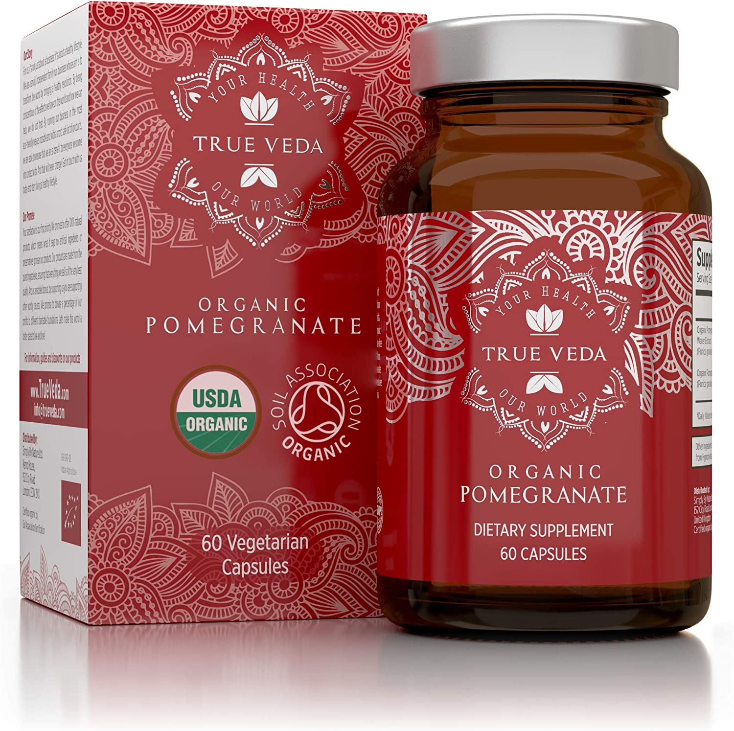 vegetarian tablets For heart and circulation 90 Pomegranate Tablets