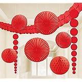 DesignWare Paper Decorating Kits, Red