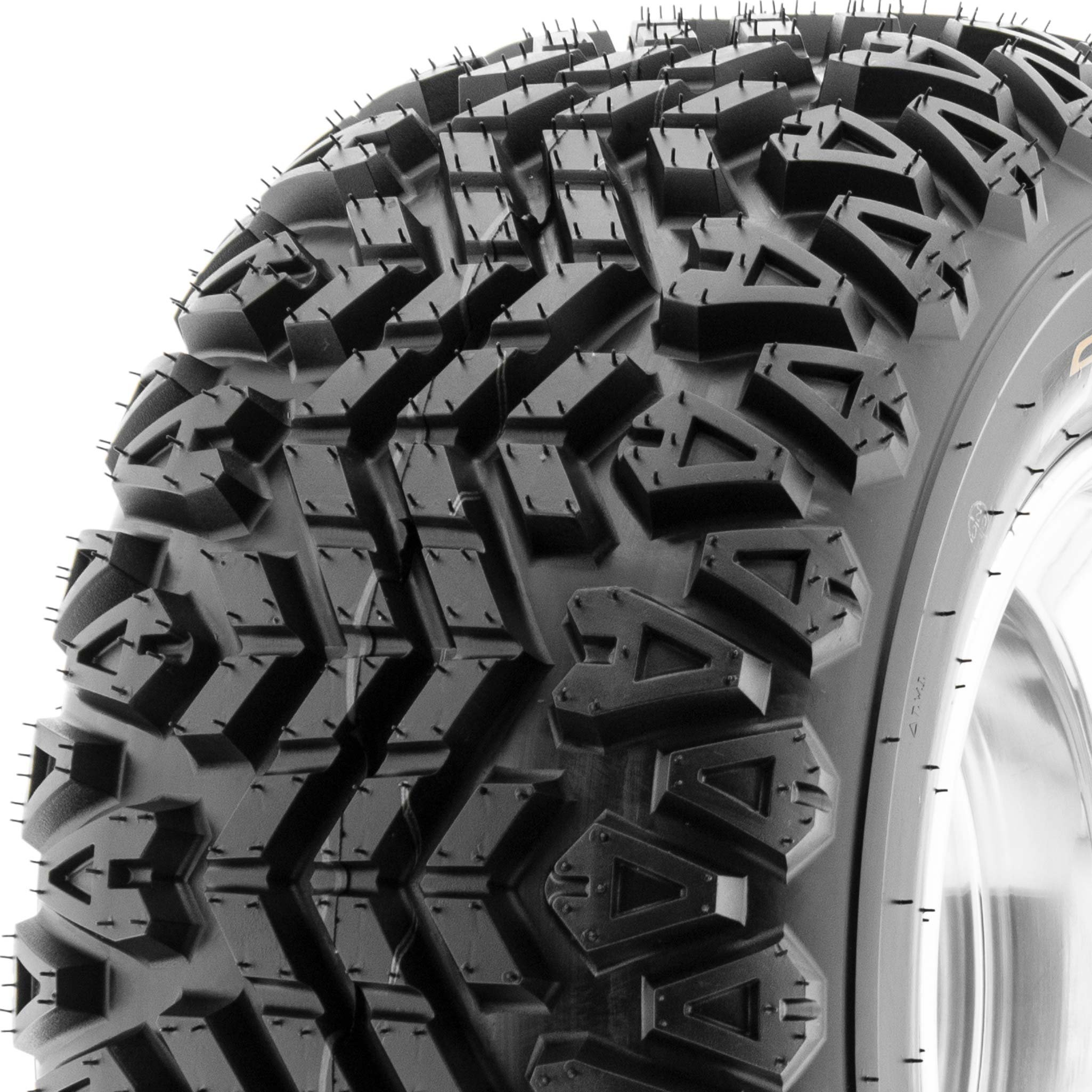 SunF ATV UTV A/T 23x11-10 All Trail 4 PR Tubeless Replacement Tire G003, [Single]