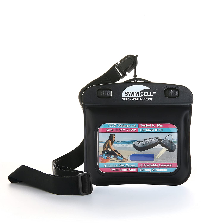 IPX8 Samsung NotePouch bis zu einem 8Zoll Bildschirm Gro/ße Gr/ö/ße10cm x 19cm L 7,8plus Schl/üssel Geld Getestet bis 10m zum Schwimmen unter Wasser Wasserdichte H/ülle f/ür Telefon SwimCell iPhone 6+ Hohe Qualit/ät