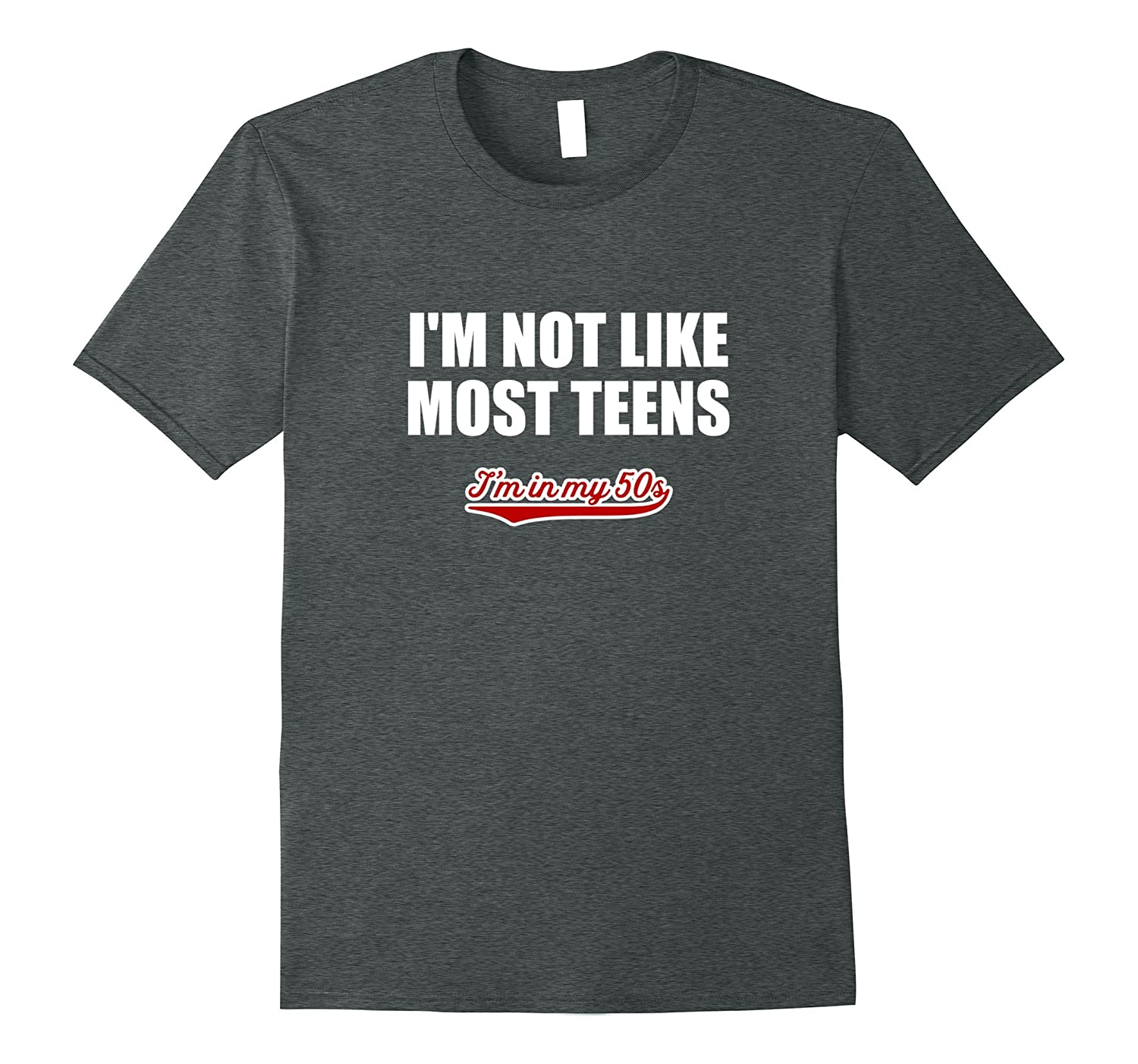 Not Like Most Teens T Shirt-Newstyleth