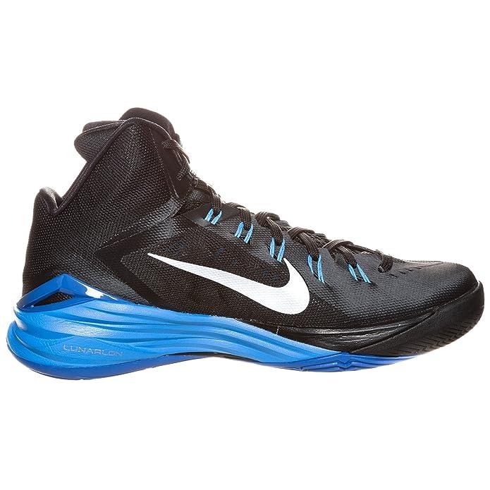 separation shoes 3d619 a3b37 Amazon.com   Nike Lunar Hyperdunk 2014 - Mens (9, Black Metallic  Silver Photo Blue)   Basketball