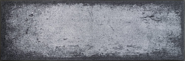 Wash+dry Matte, Oberfläche  100% Polyamide, Grau, 60 180