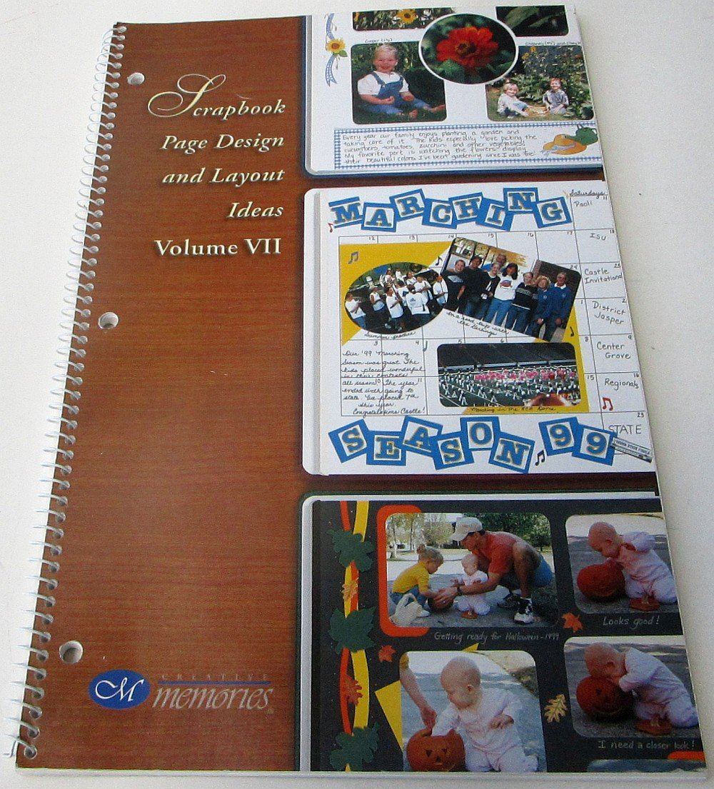 Creative Memories Scrapbook Page Design And Layout Ideas Volume Vii
