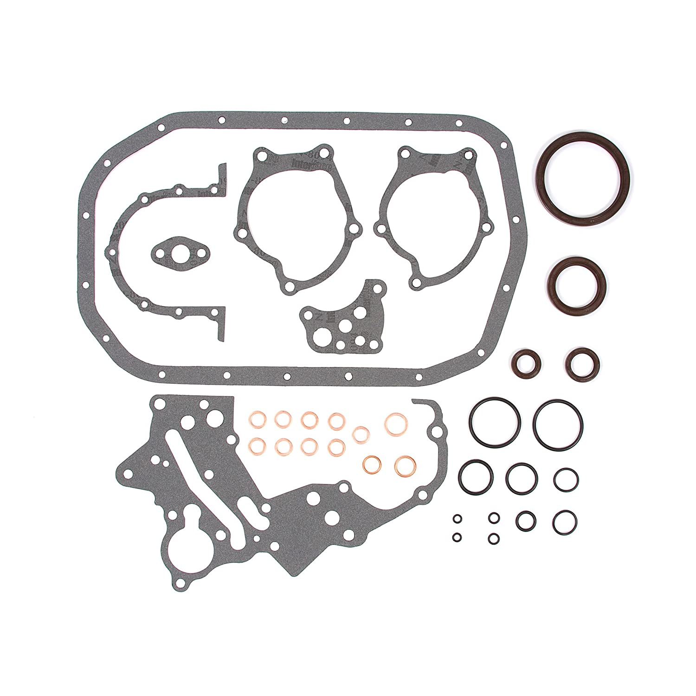Evergreen Engine Rering Kit FSBRR5005EVE\0\0\0 Fits 89-92 Mitsubishi Eagle Plymouth 2.0 4G63 4G63T Full Gasket Set Standard Size Piston Rings Standard Size Main Rod Bearings
