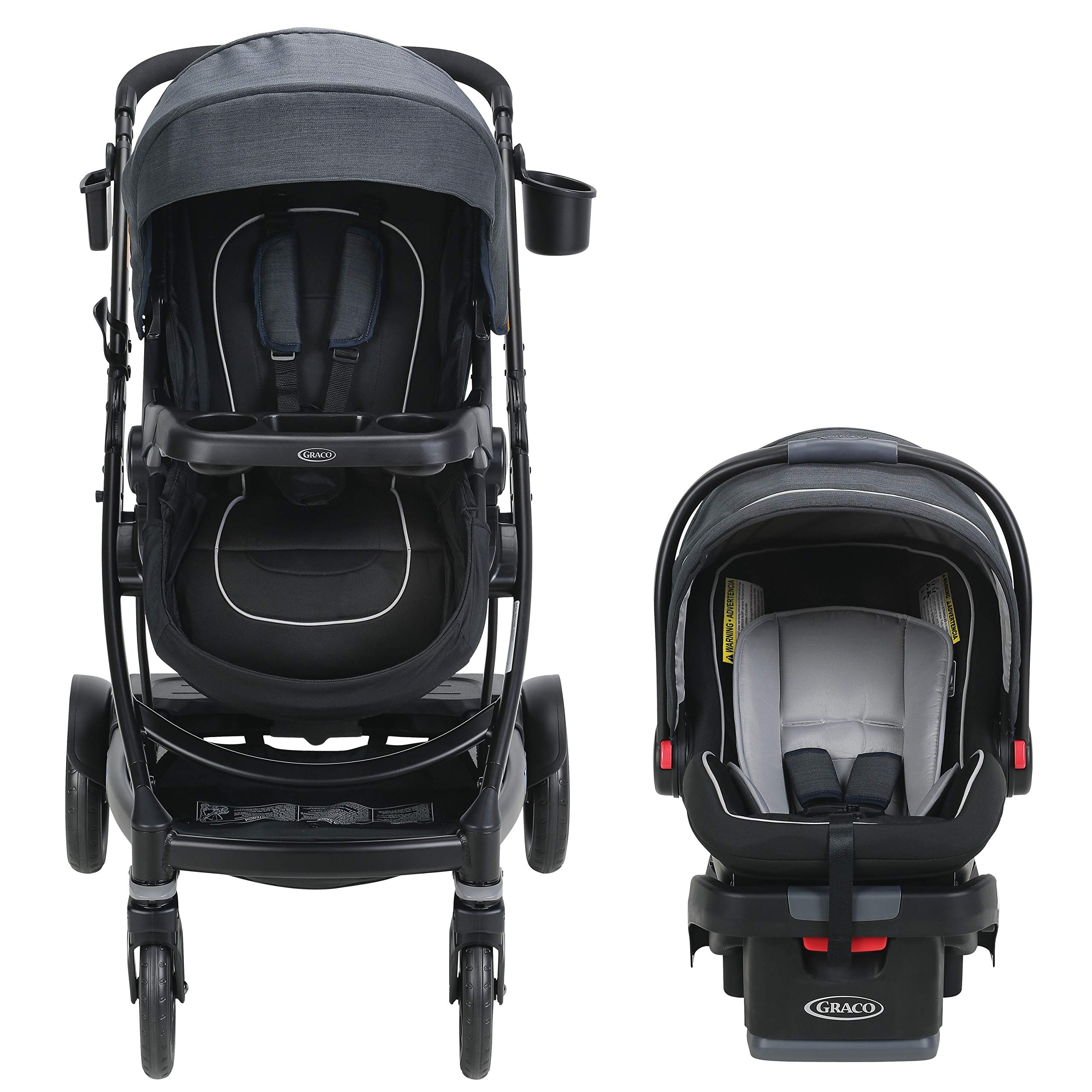 Graco UNO2DUO 2065075 Travel System Stroller, Reece by Graco (Image #2)