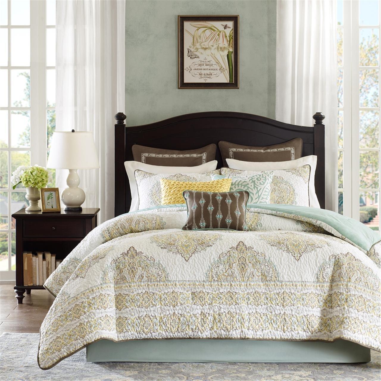 Exceptional Amazon.com: Harbor House Miramar 4 Piece Comforter Set, Cal King,  Multicolor: Home U0026 Kitchen