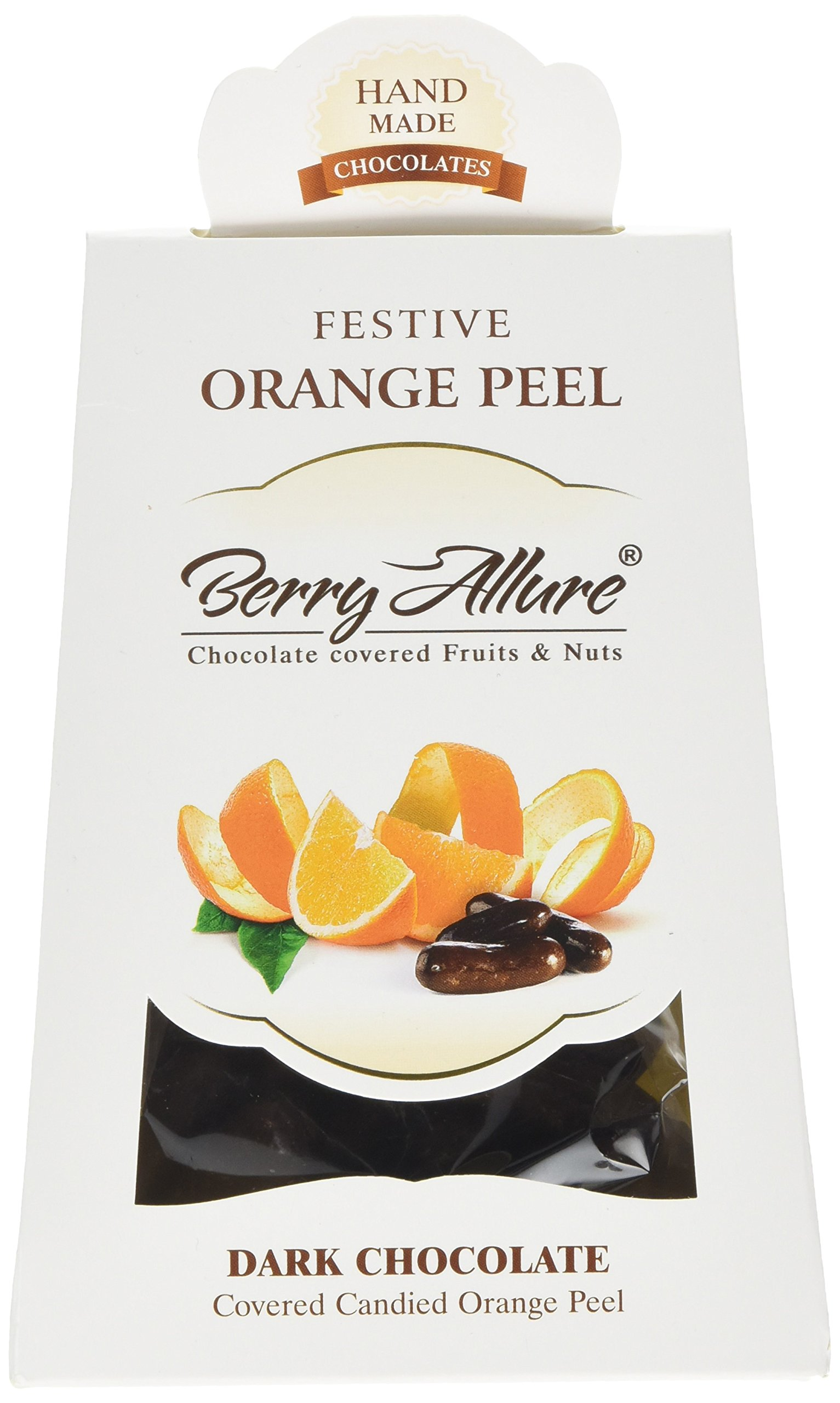 Berry Allure Pouch of Dark Chocolate Coated Orange Peel 100 g (Pack of 2)