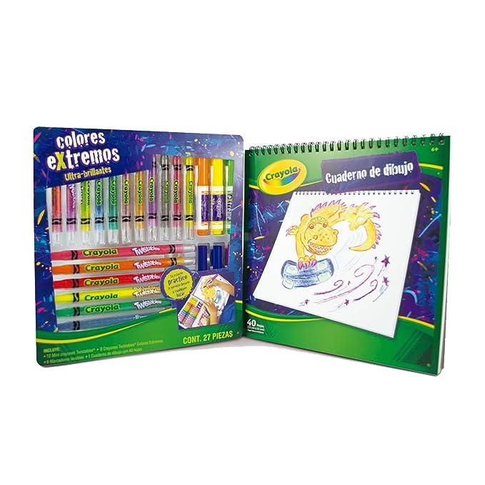 Crayola 0457160000 Set Creativo Twistables Extremos: Amazon.com.mx ...