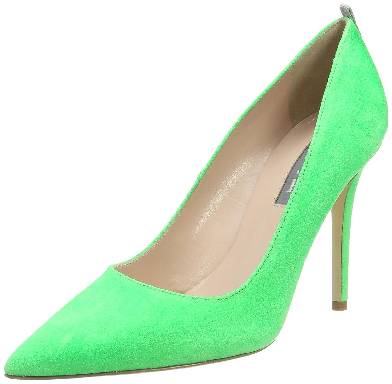 SJP by Sarah Jessica Parker Fawn, Zapatos de Tacón para Mujer 36 EU|Verde (Highlighter Green Suede)