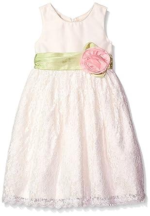 d2052e0c1fc Amazon.com  Jayne Copeland Girls Lace Skirt with Big Flower  Clothing