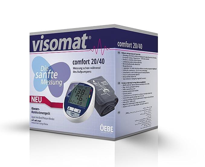 Visomat Comfort 20/40 + Adaptador Y Bolsa Transp: Amazon.es: Salud y cuidado personal