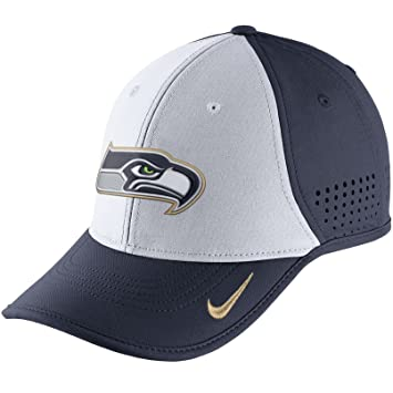 Nike Vapor de Verdad (NFL Seahawks) Ajustable Gorro, College Navy ...
