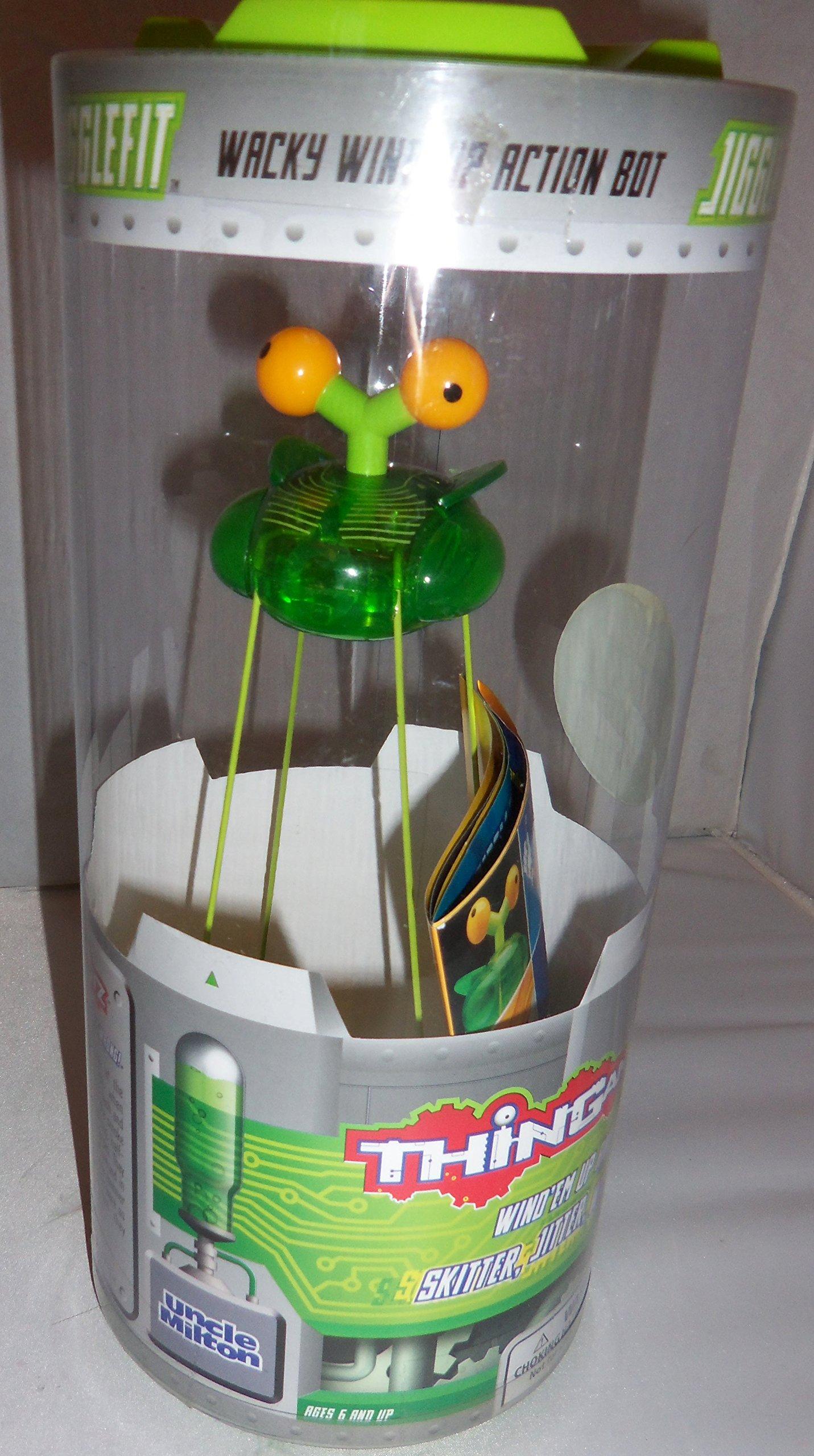 Uncle Milton's Thingamabotz ''Jigglefit'' Wind-up Toy 8''