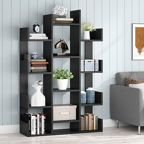 TRIBESIGNS WAY TO ORIGIN Modern Wide Bookshelf