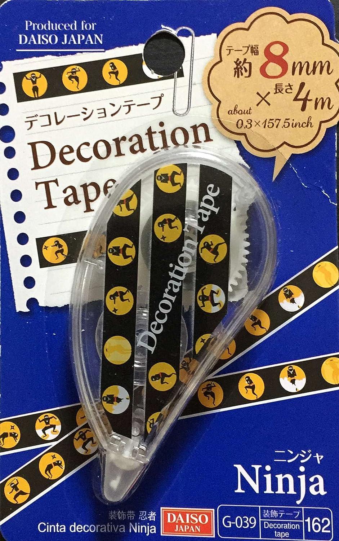 Decorative Tape, Ninja Print, Easy and Fun