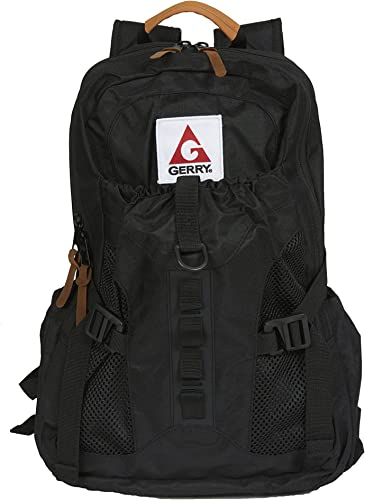 Gerry Outdoors – Thornton Zip Top Multi Compartment Backpack, Black