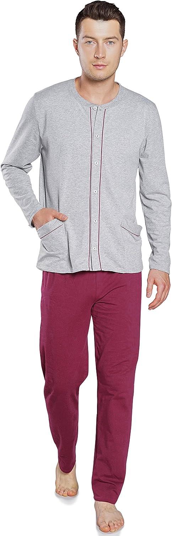 HOM Felix Juego de Pijama para Hombre