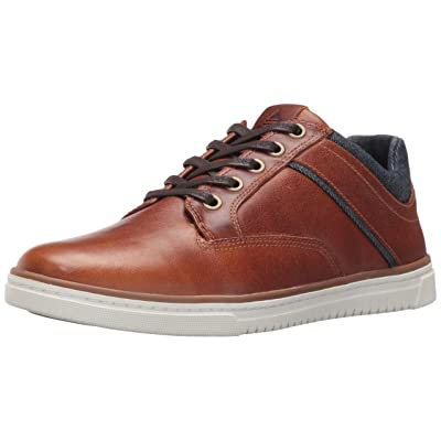 Amazon.com | ALDO Men's Tracasi Fashion Sneaker, Cognac, 8 D US | Fashion Sneakers
