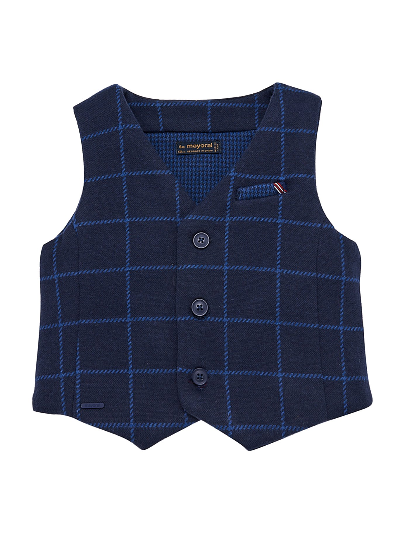 Mayoral 18-02458-010 - Dressy Vest for Baby-Boys 18 Months Dark by Mayoral