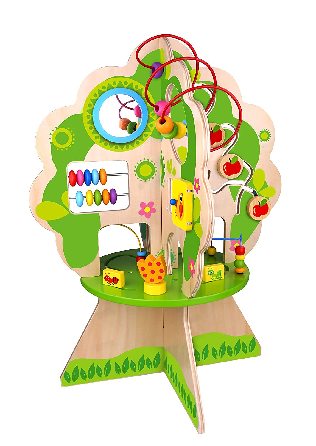 Fat Brain Toys Activity Tree Forest Friends Discovery Tree