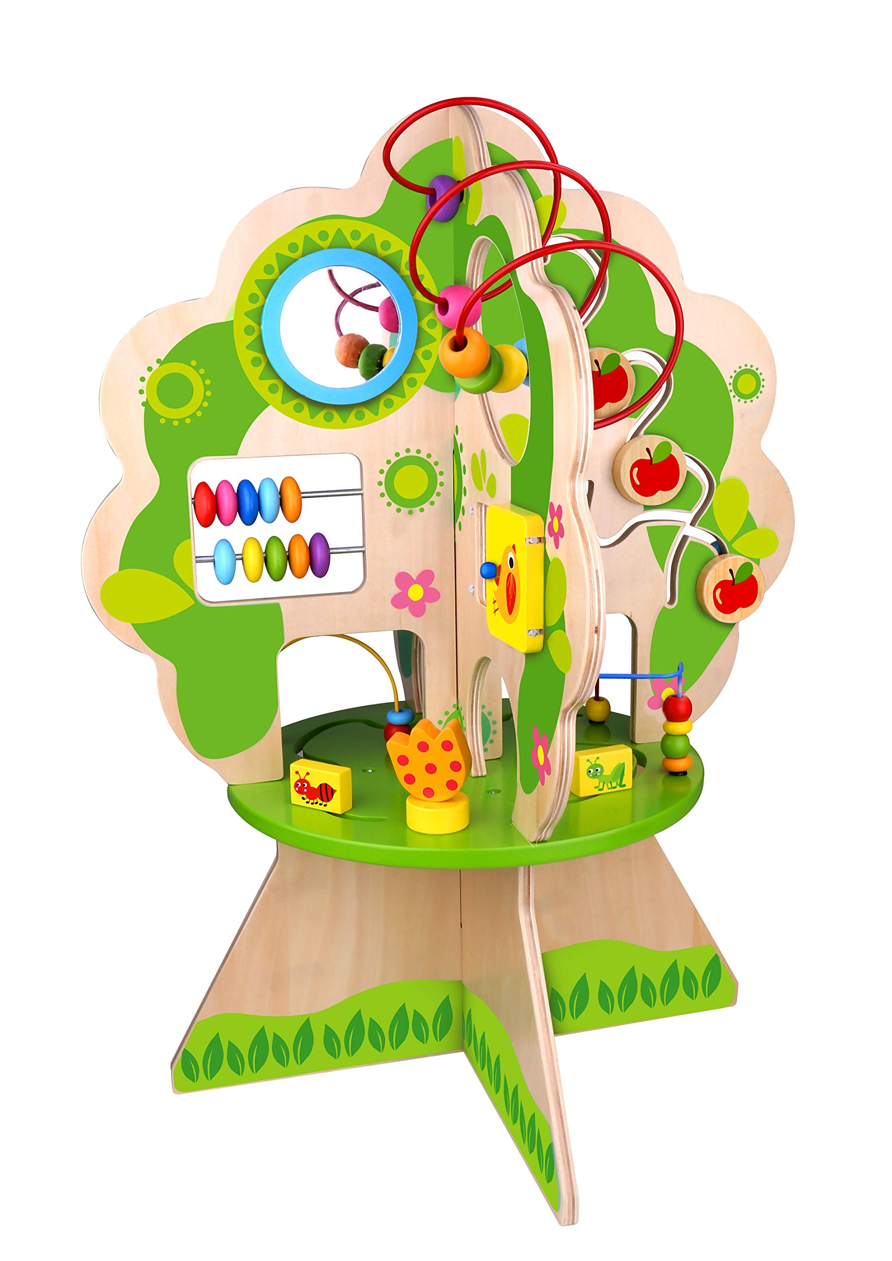 Fat Brain Toys Activity Tree - Forest Friends Discovery Tree Baby Toys & Gifts for Babies