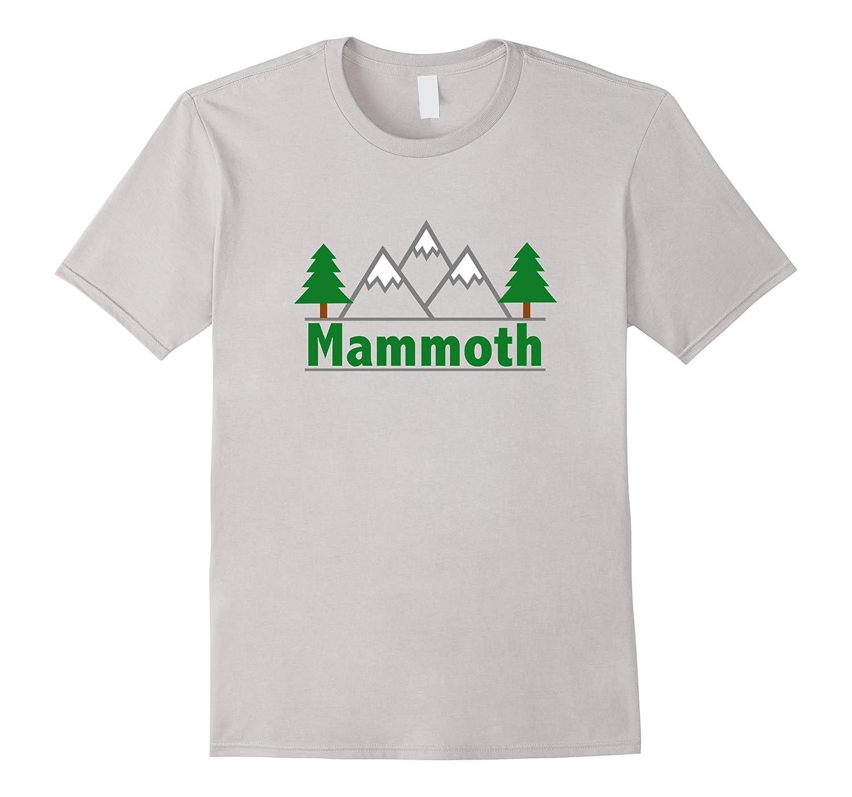 Mammoth California - Mountain  Trees Color T-Shirt-RT