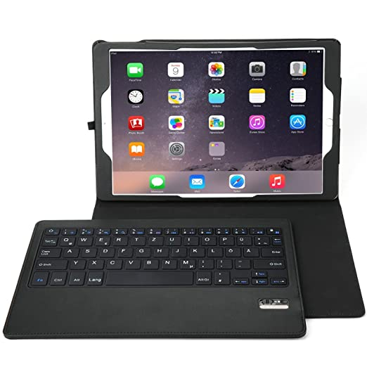 24 opinioni per Apple iPad Pro 12.9 QWERTY Bluetooth Tastiera Portfolio- IVSO DETACHABLE