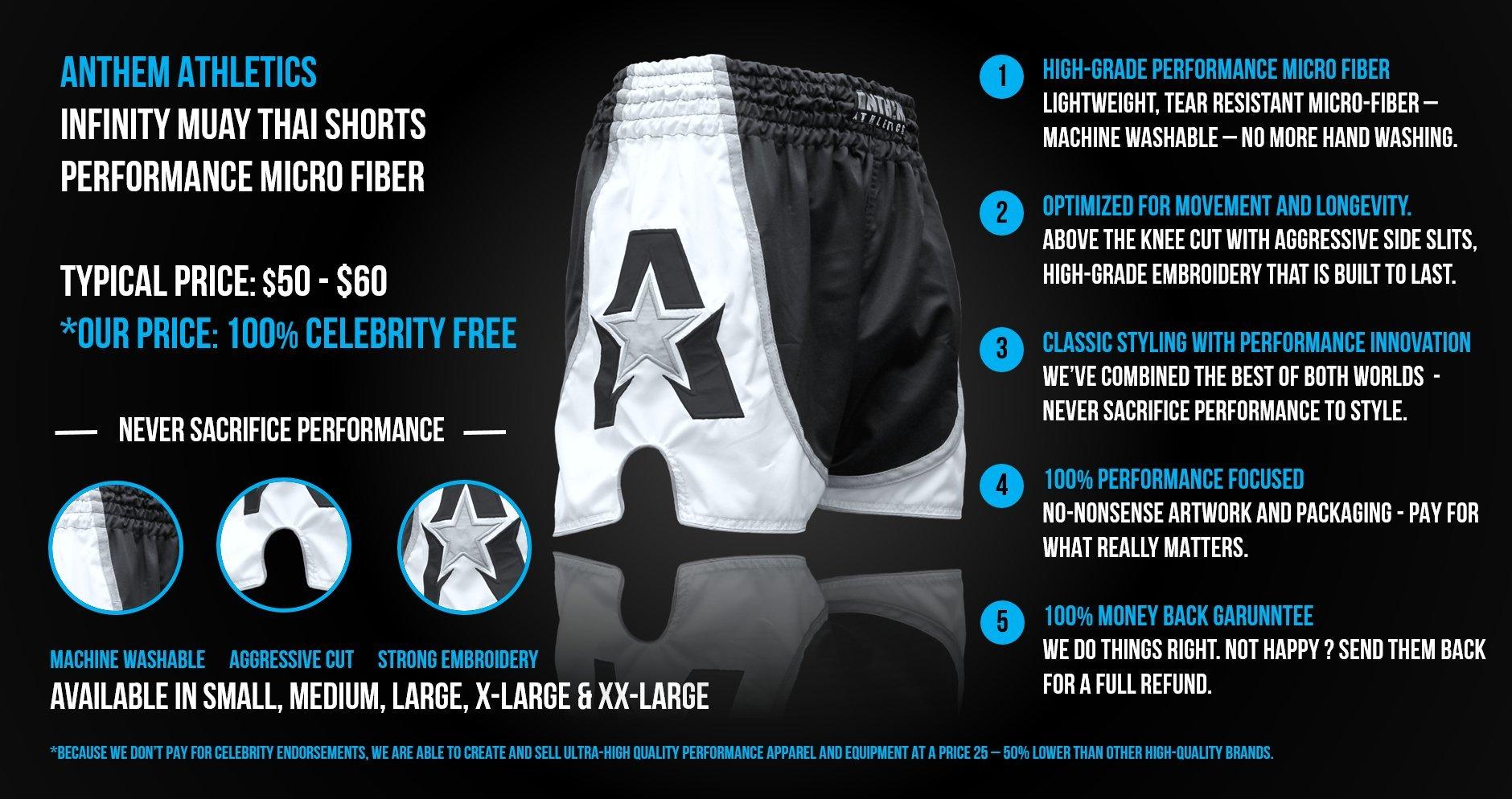 Anthem Athletics INFINITY Muay Thai Shorts