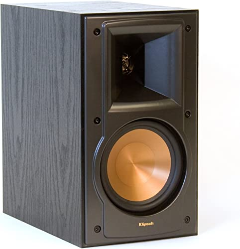 Klipsch RB-51 II Pr 2-Way Bookshelf Speakers,Black,Dimensions 11.4 H x 6.5 W x 10.75 D