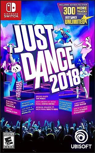 Just Dance 2018 Nintendo Switch Standard Edition Amazon Com Mx