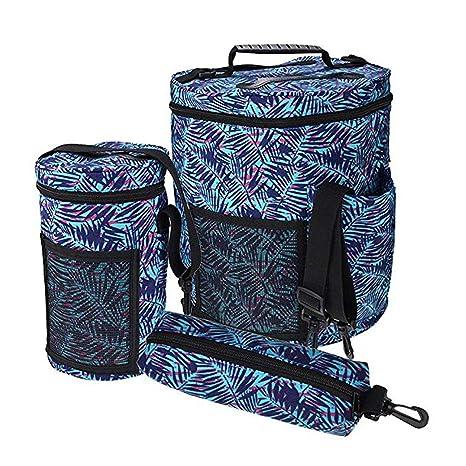 3 bolsas grandes para tejer, bolsa de almacenamiento de hilo ...