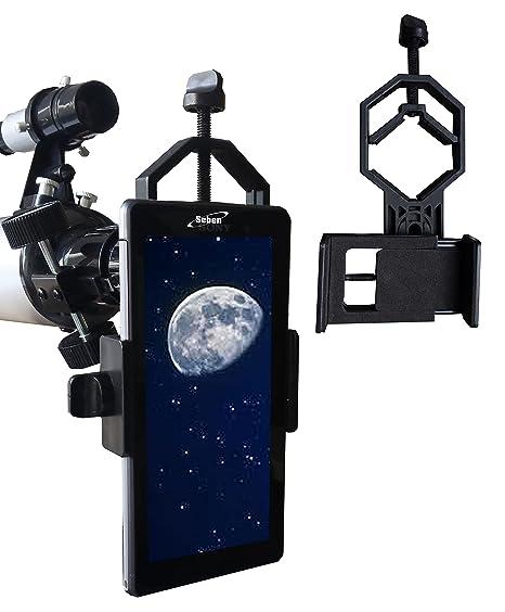 Telescopios y prismáticos Seben 700-76 reflector telescopio Big pack adaptador smartphone dka5 Telescopios