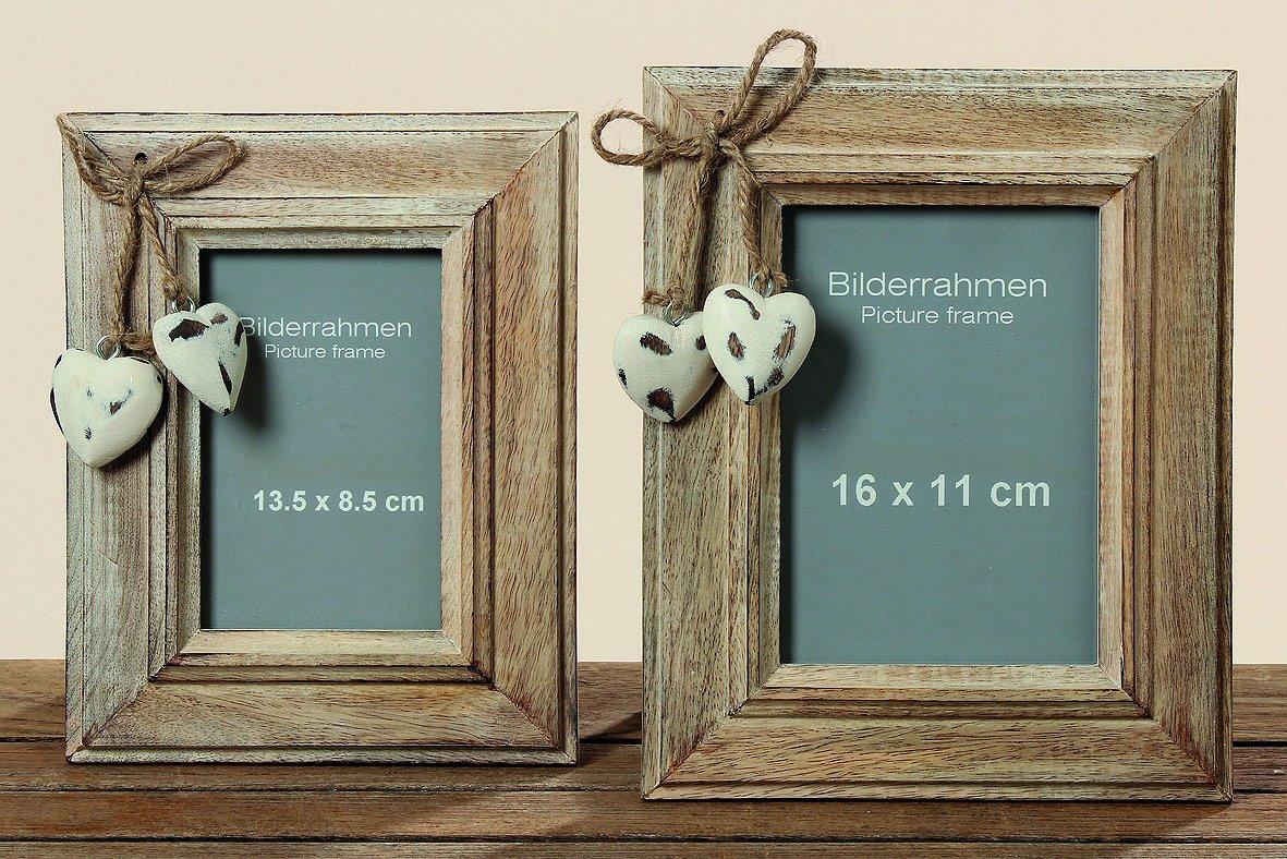 Amazon.de: Boltze Bilderrahmen EIGER aus Holz Höhe 26 cm