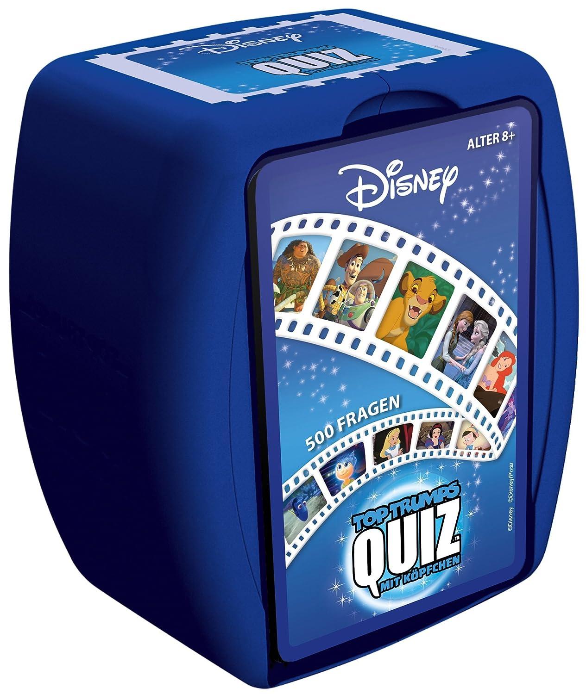 QUIZ Disney Classics Das Spiel testet dein Wissen mit 500 Fragen rund um die schönsten Disneyfilme   Wissensspiel (Deutsch)