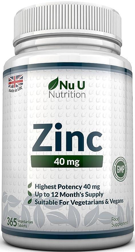 123 opinioni per ZINCO 40mg- 365 compresse (Fornitura per 12 Mesi), 1 Compressa Facilmente