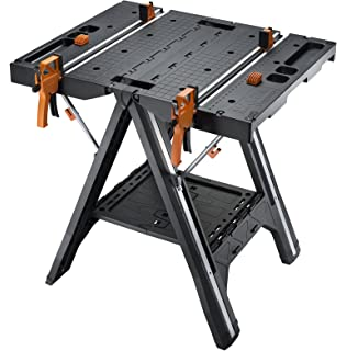 Keter 21 65 X 33 46 X 29 7 In Folding Compact Workbench Work Table