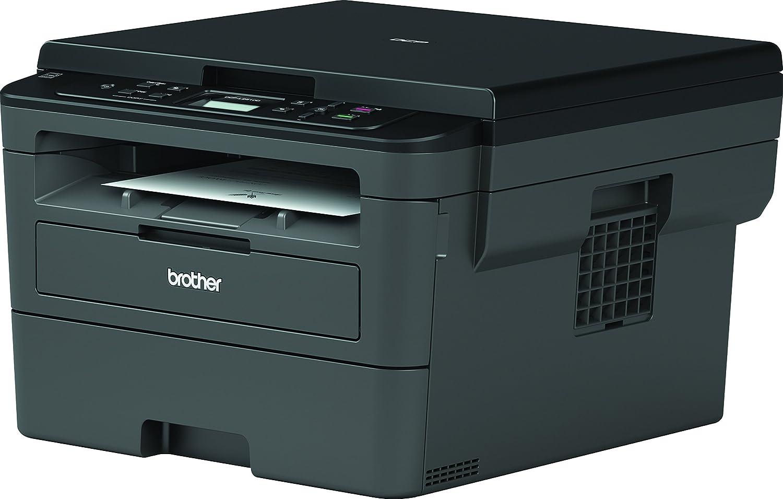 30/ppm, USB 2.0, 600/MHz Prozessor, 64/MB Speicher /Multifunktionsger/ät Laserdrucker mit Duplex Druck Brother dcpl2510d/ grau